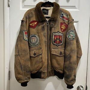 Avirex Ltd Bomber Jacket Type G-I Men's Size Medium 1987