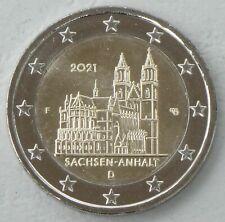 2 Euro Deutschland F 2021 Sachsen-Anhalt / Magdeburger Dom unz.
