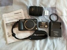 Panasonic LUMIX DMC-GX1 16.0MP Digital Camera - 14-42 Lens - Black + Extras