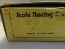 SCALE RACING CARS 1/43 JPS MK 1 1974 #1 #2 RONNIE PETERSON METAL KIT 07-81