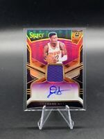 DEANDRE AYTON 2018-19 Panini Select Purple Prizm RPA RC Patch AUTO # 1/99