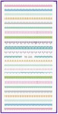 Nail Art Water Decals Stickers Transfers Easter Pretty Spring Lace (YE235)