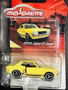 Majorette Vintage Cars Toyota Celica GT Coupe Yellow