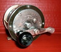 Beautiful Vintage PENNELL 250 Yard Conventional Reel, circa early 1900's. USA