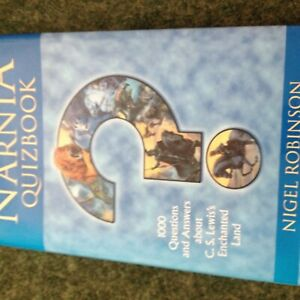 the unofficial narnia quizbook hardback book