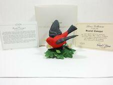 The Lenox Garden Bird Collection Scarlet Tanager (Fine Porcelain 1992)
