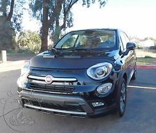 Fiat 500x 500 X 2016 2017 Custom Car Bonnet Mask / Hood Bra