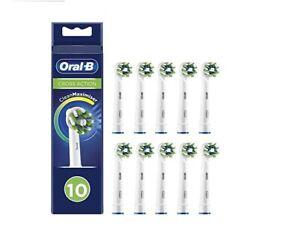 Oral-B CrossAction Testine di Ricambio per Spazzolino Elettrico, 10 Pezzi