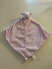 Strasburg Plush Pink Lamb Baby Security Blanket Lovey EUC Angel Dear