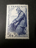 FRANCE 1949, timbre 824, METIERS MARIN PECHEUR, neuf**, VF MNH STAMP