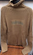 Mens No Fear Bronze Army Pullover Size Large Jumper