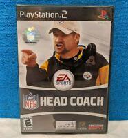 NFL Head Coach (Sony PlayStation 2, 2006) Factory Sealed