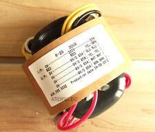 220V 30W r-core transformer for audio ampli amplificateur micros dac cd 9V+9V+9V+9V
