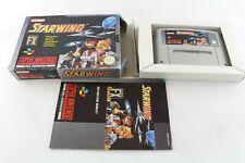 Snes Super Nintendo Starwing Pal Video Game V3