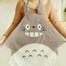 Studio Ghibli My Neighbor Totoro Gray Apron Kitchen Cooking Cosplay Girls Gifts