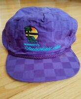 VTG-1980s Marriott's Orlando World Ctr Union Made in the USA Strapback hat cap