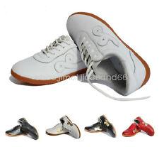 Professional Wushu KungFu Martial Arts Tai Chi WingChun Exercises Leather Shoes