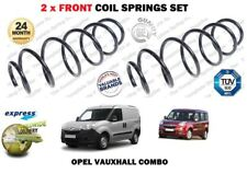 FOR OPEL VAUXHALL COMBO VAN MPV + CDTI  2010->NEW 2X FRONT COIL SPRINGS SET