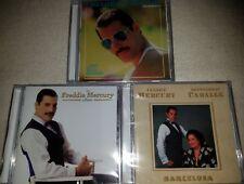 3CD Freddie Mercury-Mr.Bad Guy 1985/ The Album 1993/ Barcelona (M.Caballé) 1988
