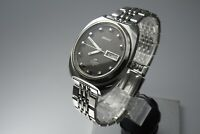 26504Vintage 1969 JAPAN SEIKO LORD MATIC WEEKDATER 5606-9040 25Jewels Automatic.
