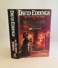 The Diamond Throne-David Eddings-SIGNED!-First Edition/1st Printing-Bk 1 Elenium
