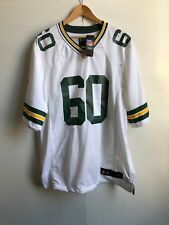 Green Bay Packers Nike NFL MEN'S 2018 Away Jersey GIOCO-XL-Ellis 60-NUOVO