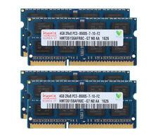 For Hynix 16GB (4X 4GB) Laptop Memory DDR3 1066MHz PC3-8500S 2RX8 RAM SODIMM @ST