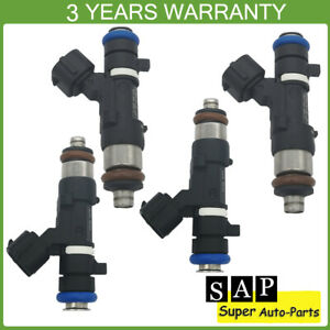 4X Fuel Injectors For Nissan Sentra 2013-2019 1.8L MRA8DE 0280158296 16600-3RC0A