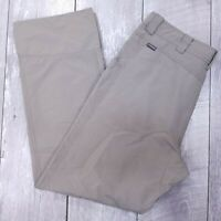 Cloudveil Stretch Outdoor Pants Mens 36x32 Brown Nylon Mid Straight Leg J86