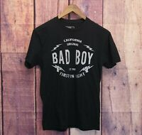 Bad Boy Pro Series T-Shirt Size Small MMA First in Fight Black Tee Shirt
