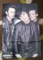 GREEN DAY/BULLET FOR MY VALENTINE 2-sided magazine POSTER / Pin Up 32x22 inches