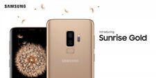 Samsung Galaxy S9+ S9 Plus Factory UNLOCKED SM-G965U1 (128GB SUNRISE GOLD) NEW