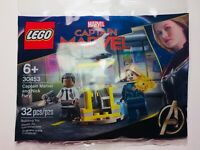 LEGO Captain Marvel and Nick Fury Polybag 30453 NEW SEALED