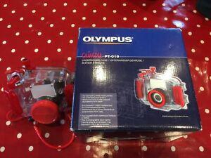 Olympus PT-019 Underwater Housing + Olympus C-5000 Digital Camera MUST LOOK!!