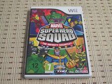 Marvel Super Hero Squad the Infinity Gauntlet para Nintendo Wii y Wii U * embalaje original *