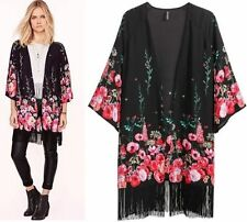H&M Polyester Floral Coats & Jackets for Women