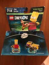 LEGO Dimensions #71211 The Simpsons Bart and Gravity Sprinter Fun Pack. NEW