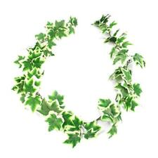 Variegated Artificial Flocked Ivy Garland X 180cm Wedding Home Trailing Leaves