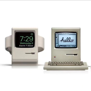 Apple Watch iWatch Charging Stand Dock Retro Macintosh UK