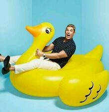 Giant Yellow Inflatable Duck Float