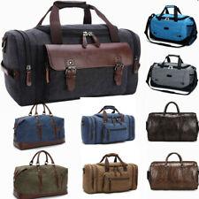 Men Gym Sports Travel Large Luggage Handbag Outdoor Weekend Overnight Duffle Bag