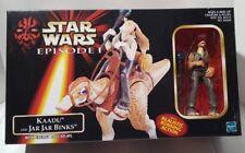 Hasbro Star Wars Episode I Kaadu and Jar Jar Binks with Energy Ball Playset