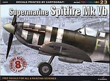 Kagero Mini Topcolors 23 Supermarine Spitfire Mk Vb Decals & Painting Schemes