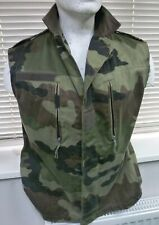 "French Army Sleeveless Camouflage Jacket - 40""/42"" Chest"