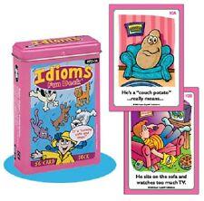 Idioms Flash Cards Super Duper Fun Deck Language ESL ELL Autism Communication