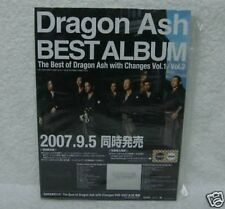 The Best of Dragon Ash with Changes Japan Promo Display