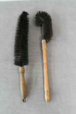 2 Vintage antique, wooden eco cleaning brushes, 1 Betterware Brand, eco tools