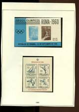 Worldwide selection of  mint & mnh stamp sets - Sports - Olympics 3 scans