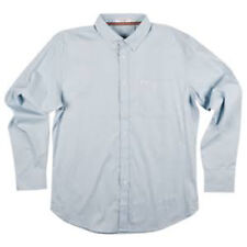 MATIX Eli Solid Woven Shirt (XL) Light Blue
