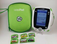 LEAPFROG LEAPPAD Explorer Learning Tablet Green Leap Frog Stylus, 6 Games & Case
